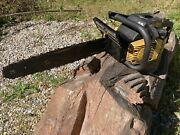 Mcculloch Timber Bear Chainsaw Good Condition 650 610 605 Rtr Just Add Fluids