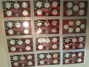 Complete Set Of 1999-2010 U.s. 90 Silver Proof Quarters 61 Coins