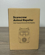 Diotec Scarecrow Animal Repeller Solar Power Water Proof Motion Activated New