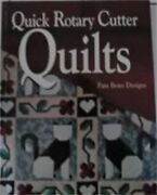 Quick Rotary Cutter Quilts For Love Of Quilting By Pam Bono - Hardcover New