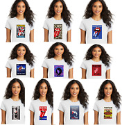New Wholesale Lot 10 Rolling Stones Concert Tour Poster Graphic Tees 4 Sizes
