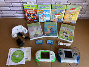 2 Leap Frog Leapster And L-max Game System 9 Games