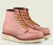 Discontinued Red Wing Pink Moc Mock Toe Women Us 6 3387 Japanese Size 23