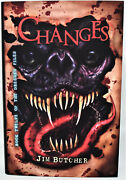 Signed Limited Ed Changes By Jim Butcher New