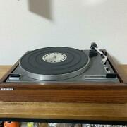 Sony Stereo Turntable Yj-300 Record Player Free Shipping Japan W/tracking. K3416