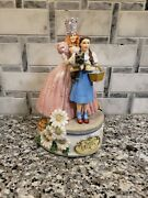 Wizard Of Oz Dorthy And The Good Fairy Music Box Plays Somewhere Over The...