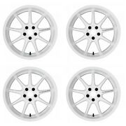 Work Emotion D9r 18x10.5 +23 +15 5x114.3 Wht From Japan [order Products]