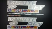Monterey Boats Emblems 30+flags + Free Fast Delivery Dhl Express - Stickers