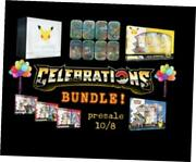 With Quality Assurance Document Trading Cards Pokemon Celebrations Bundle Of 14
