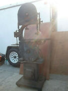 Gallmeyer And Livingston Co. 16 Band Saw Union Bandsaw Classic Vintage Antique