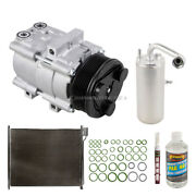 For Ford Excursion 2000-2005 Oem Ac Compressor W/ Condenser Drier Tcp