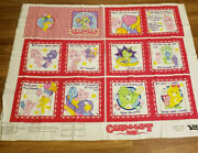 Care-a-lot Bear Park Fabric Panel Soft Book 3 Yds For 3 Books Continuous Piece