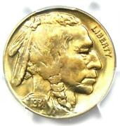 1931-s Buffalo Nickel 5c Coin - Certified Pcgs Ms66+ Plus Grade - 1750 Value