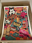 Dave Matthews Band Poster Chicago, Il Northerly Island 8/7/2021 Methane In Hand