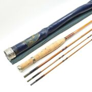 F.e. Thomas Special Bamboo Fly Fishing Rod. 8and039 3/2. See Description.