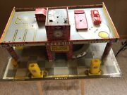 Vintage 1953/54 Superior Service Gas Station Superior Toys By T. Cohn Inc.