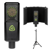 Lewitt Lct 540 Subzero Condenser Microphone W/ Reflection Filter And Mic Stand