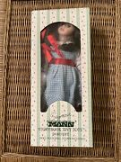 Seymour Mann Wizard Of Oz Dorothy Storybook Tiny Tots Porcelain Doll With Stand