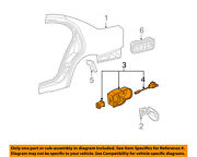 Lincoln Ford Oem 04-06 Ls-fuel Tank Filler Neck Tube Pipe 6w4z5427936a