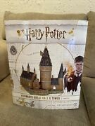 Dept 56 Hogwarts Great Hall And Tower Building Harry Potter 6002311 Nib