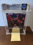 Mike Tysonand039s Punch Out Wata 7.5 Complete - Graded With Letter / Nintendo Nes