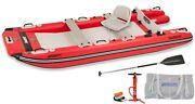 Sea Eagle Fast Catamaran Style Inflatable Boat Smoothest 2 Person Deluxe Ride