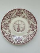 Wheaton College Wedgwood Saucer 5.5 Chapel Tower