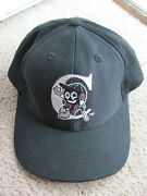 Chiliand039s Restaurant Grill And Bar Black Software Baseball Team Cap Hat