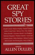 Great Spy Stories By Allen Dulles - Hardcover Mint Condition