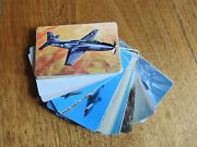 3-minute Oats F285-3 Airplane Trading Cards Mid 1950s. 40 Of 42. One Owner Set