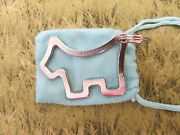 New Cameron Scotty Dog Large Cookie Cutter Large Keychain Fob Marker