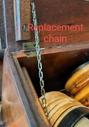 Replacement Lid Chain Part For Colin B Kennedy Type 110 Radio Receiver 1920s