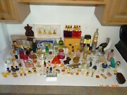 Old Vintage Collectible Perfume Cologne Bottles Lot 70+