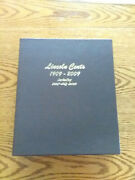 Dansco 8100 Lincoln Cents With Proofs 1909 - 2009 Partially Filled Album Mjb2