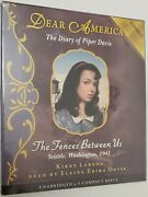 Dear America The Diary Of Piper Davis The Fences Between Us By Kerby Larson