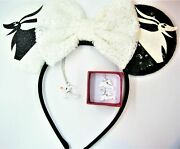 The Nightmare Before Christmas Necklace Set And Mouse Ears New For 2021