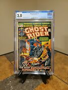 Marvel Spotlight 5 🔥cgc 3.0 🔥 1st Appearance Ghost Rider. Off-white Pages