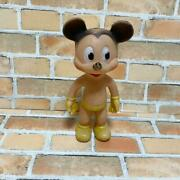 Mickey Mouse Vintage Soft Vinyl Made In Usa Sun Lover 50s