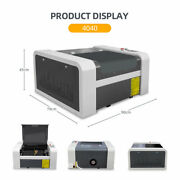 50w Co2 Laser Engraver Laser Engraving Machine 400x400mm Ruida Rotary Included