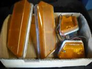 Triumph Tr6 Front Signal Lenses And Side Marker Lamps