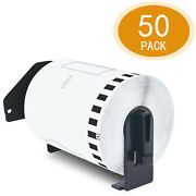 50rolls 4x100and039 Continuous Tape Dk-2243 For Brother Ql-1110nwb Label Printer