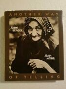 Another Way Of Telling By John Berger - Hardcover Excellent Condition