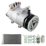 For Ford Focus 2013 Oem Ac Compressor W/ Condenser Drier Tcp