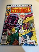The Eternals 7 Bronze Age Key 1st Appearance The One Above All 1977