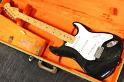 Fender Eric Clapton Stratocaster Black Used Electric Guitar