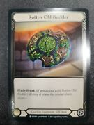 Rotten Old Buckler Cold Foil Tales Of Aria Flesh And Blood Tcg