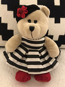 Starbucks Bearista Bear Alice And Olivia Beret 110th Ed Chicago Stacey Bendet 2013