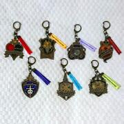 Disney Twisted Wonderland Stained Glass Key Chain