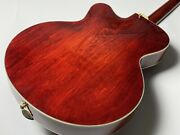 Eastman Ar-403ce Antique Red Hollow Body With Hard Case Safe Delivery From Japan