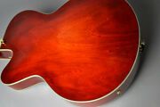 Eastman Ar-403ce Antique Red Hollow Body With Hard Case Ships Safely From Japan